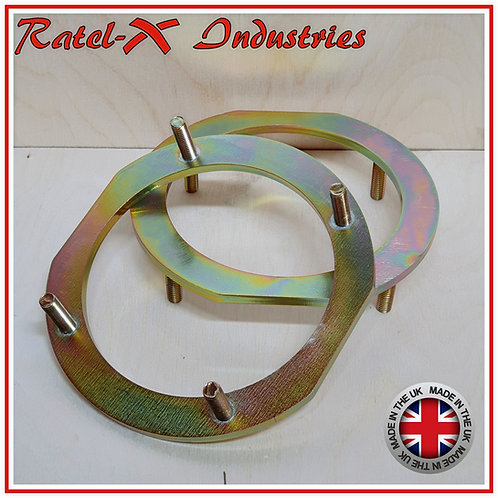 Heavy Duty Turret Rings for Land Rover Defender, Discovery 1, 2 & RRC image 1