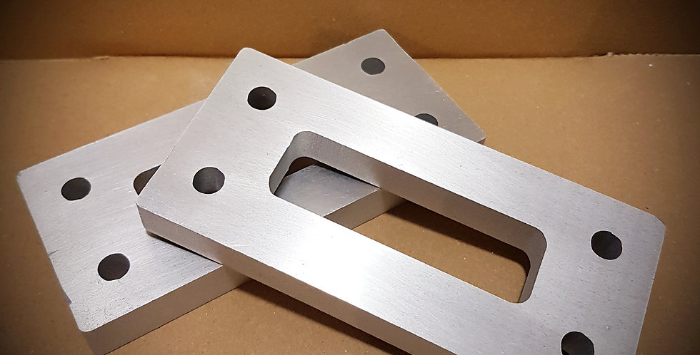 Discovery 2 Front Crossmember Spacers 001