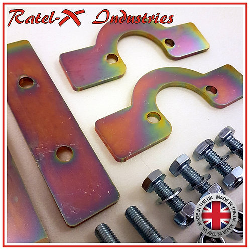 D90 HD Front + Rear Set Coil Spring Retaining Plate (FITS 90-D1-RRC)