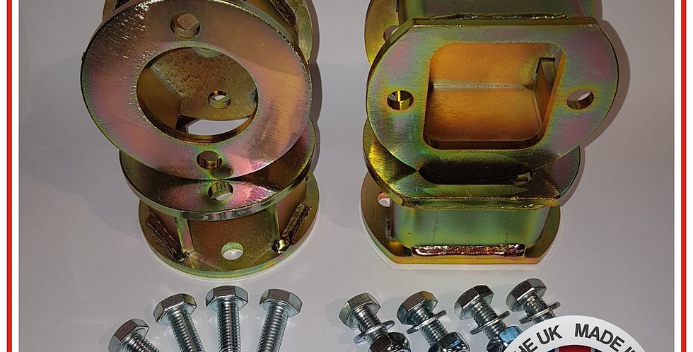 """Discovery 2 Coil Spring 50mm ( 2"""" inch ) lift Block Set of 4"""