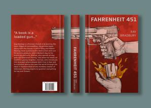 'Fahrenheit 451' Book Jacket