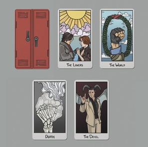 'The Breakfast Club' Tarot Cards