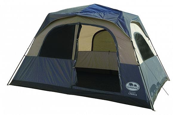 אוהל הקמה מהירה ל-8 ONE TOUCH CABIN