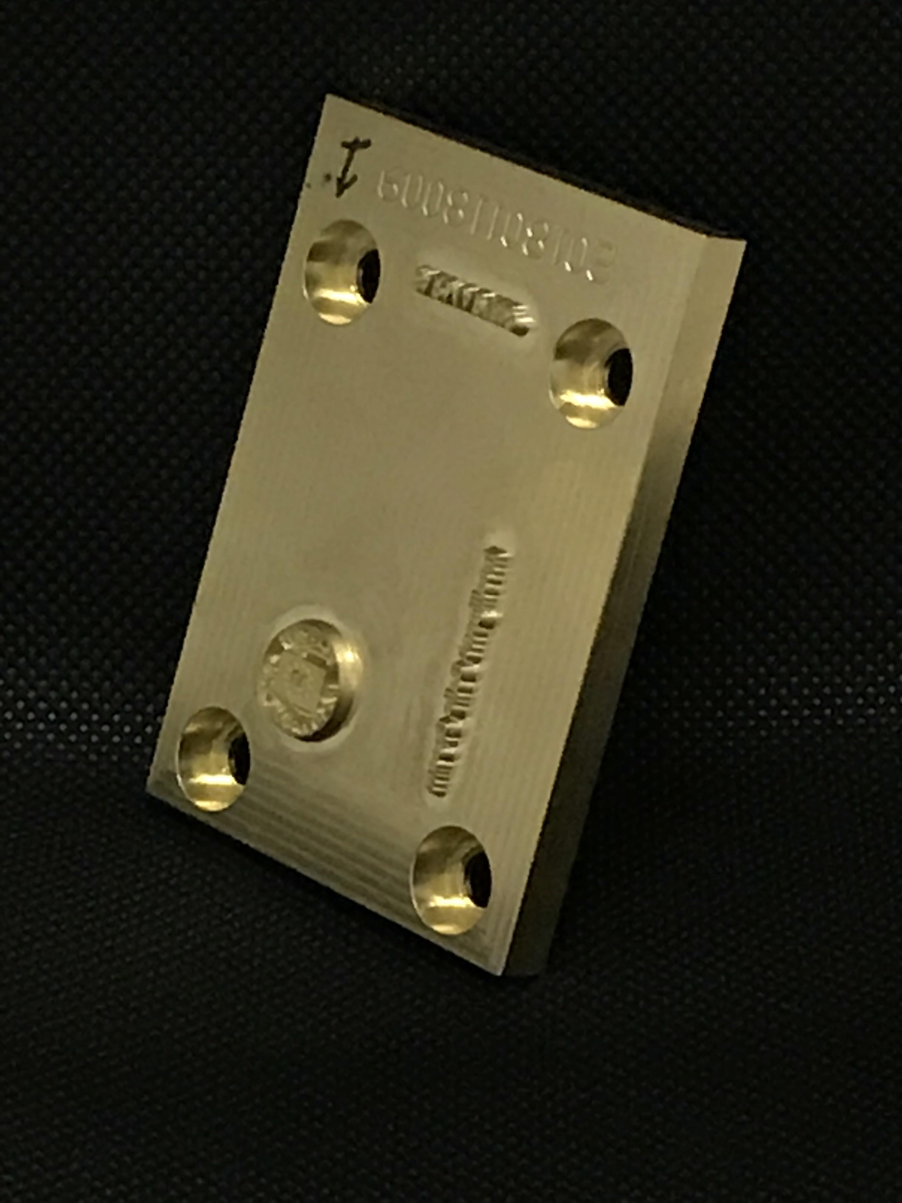 Hot Stamping Latón 12.5 mm