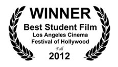 WINNER BEST STUDENT FILM 2012