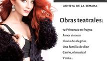 Daniela Luján artista de la semana - Asociación Mexicana de Productores de Teatro
