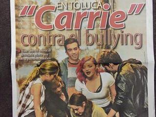 """Presentaron """"Carrie"""" contra el bullying en el teatro Morelos. - El Sol de Toluca"""