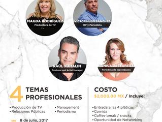 Grandes del showbiz en México se unen para enseñar el negocio del espectáculo-