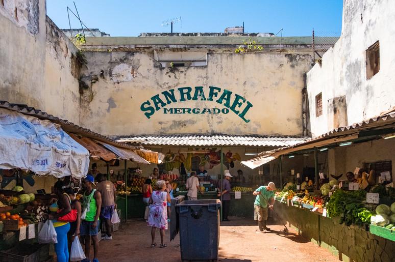 San Rafael Market, Havana