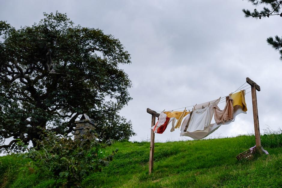 Hobbiton, Hobbit laundry