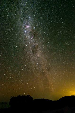 Star gazing in Whananaki