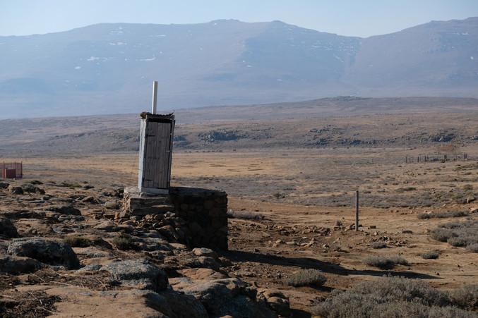 Lesotho Toilet
