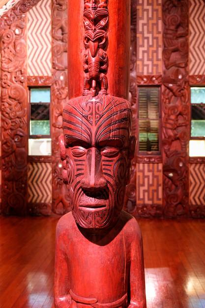 Waitangi Treaty Grounds, Maori meeting house