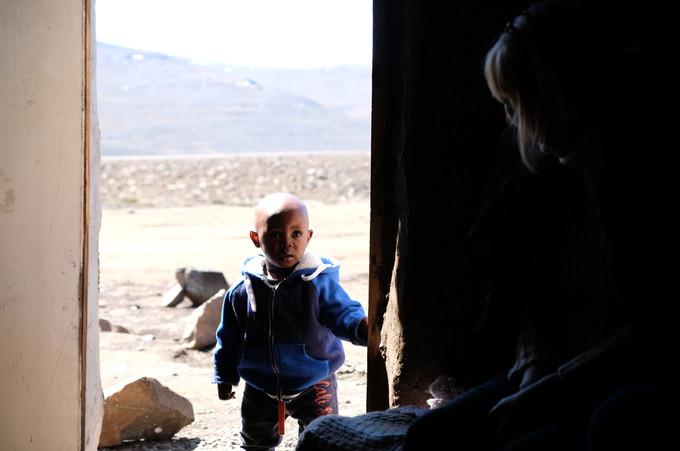 Son of a priecherman, Lesotho