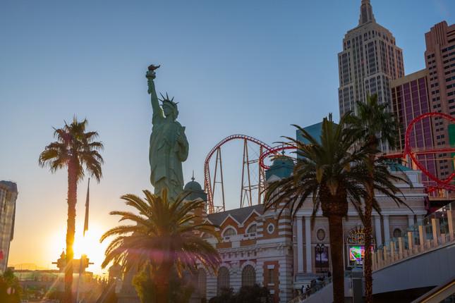Sunset in Vegas