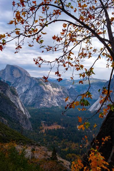 The Upper Yosemite Falls trails, Yosemite