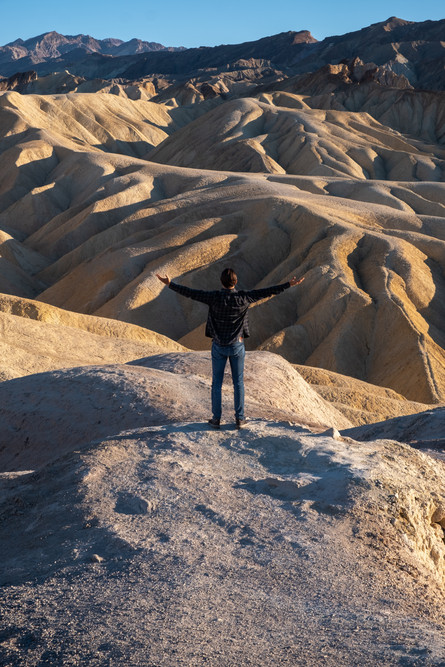 Zabriskies point, Death Valley