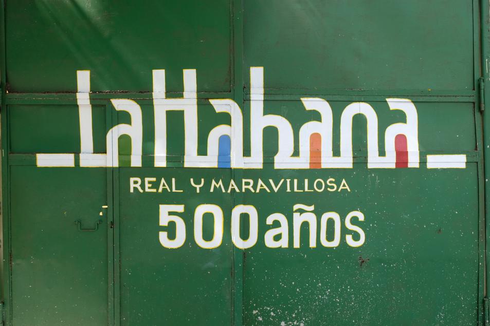 500 years of Havana