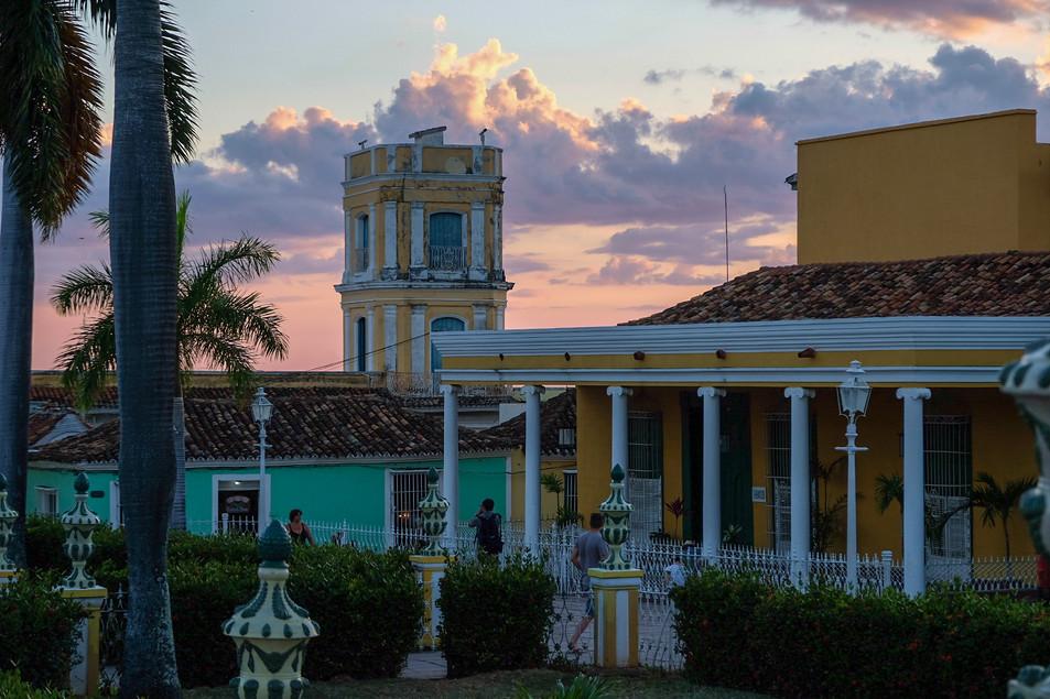Trinidad, sunset