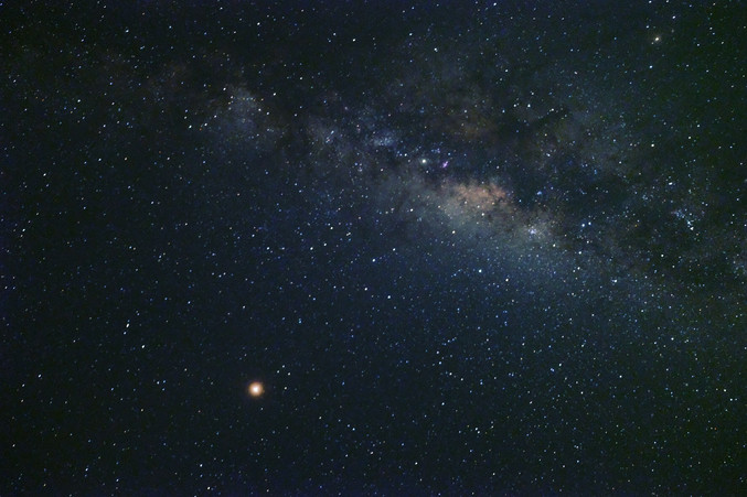 Milkyway from Kruger Park