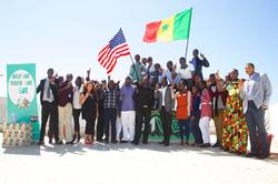 Meeting the Give1 Team in Dakar
