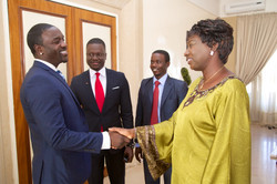 Meeting Prime Minister of Senegal