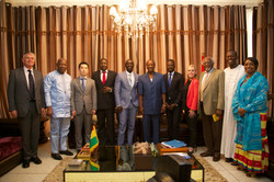 Meeting with the President of Guinea