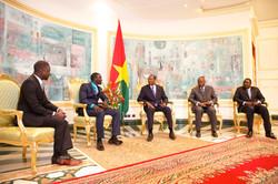 Meeting President Blaise Compaoré