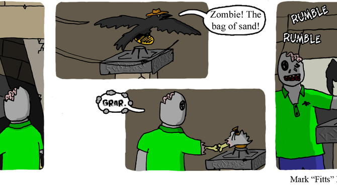 Macguffin gave Raven and Zombie the map