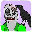 Raven and Zombie  Web Comic  Profile Pic