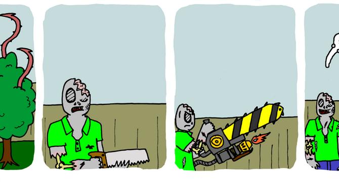Zombie vs. Plant