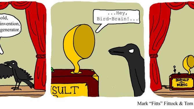 Raven's latest crappy invention