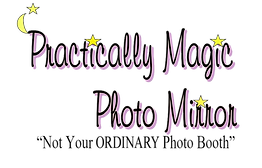 Practically Magic Photo Mirror Photo Booth Logo