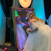 bride signing with flair