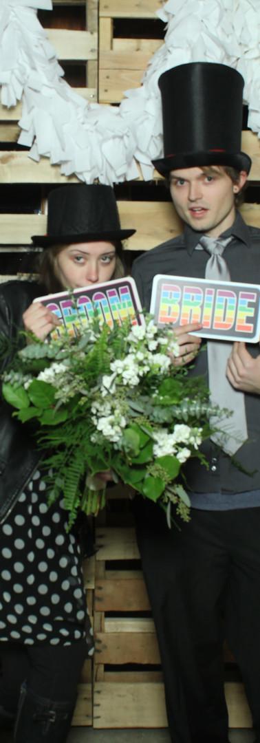 Caught the bouquet