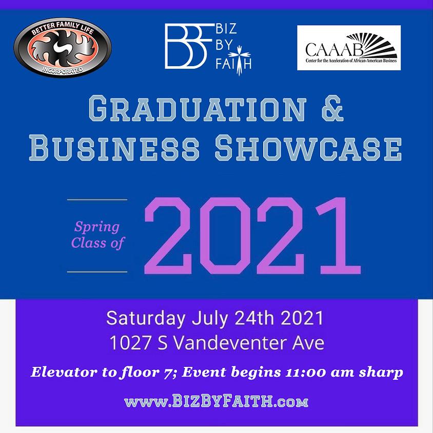 Lean Start Graduation and Business Showcase