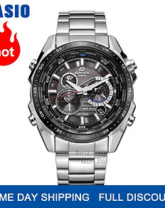 Casio Men Luxury 100m Waterproof Wrist Watch Chronograph Quartz Sport Watches
