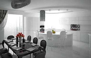 квартира 295 м², объединены2 квартиры