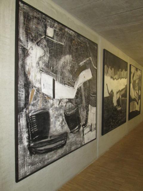 Alte Spinnerei, Innen, Kunst