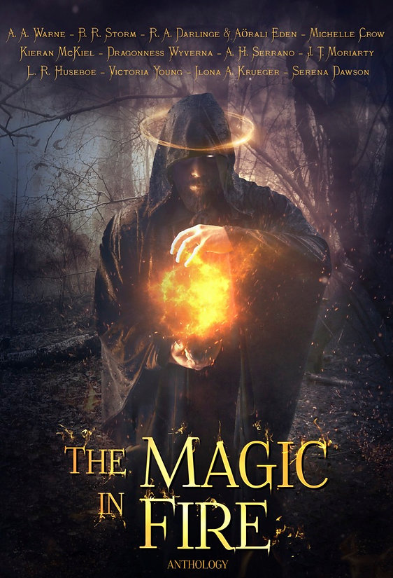 The Magic in Fire - Official Cover JPEG.