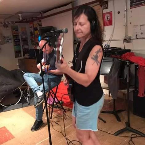 Recording at Matt's