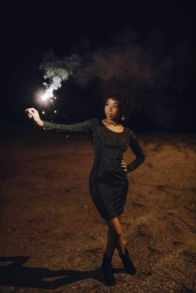 kedeisha is litterally a firework!