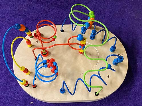 Hape Bead Maze Wall Toy