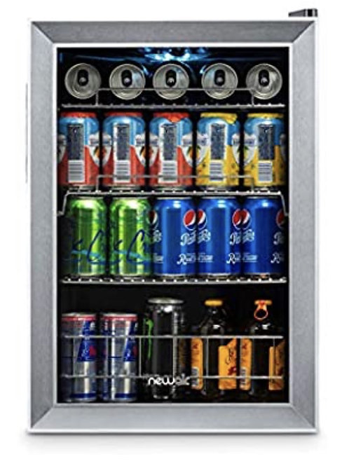 90 Can Beverage Refrigerator by NewAir