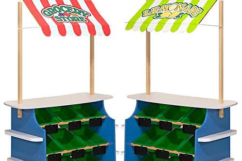 Melissa & Doug - Reversible Grocery Store/Lemonade Stand