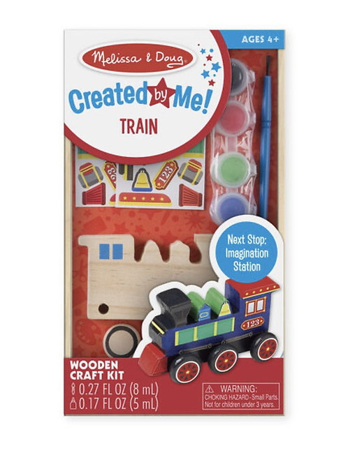 Created by me - train painting kit