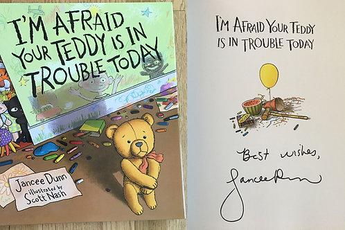 Autographed Jancee Dunn Kids Book