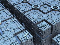 Motion graphics grid
