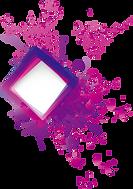 Square-purple-paint-splat