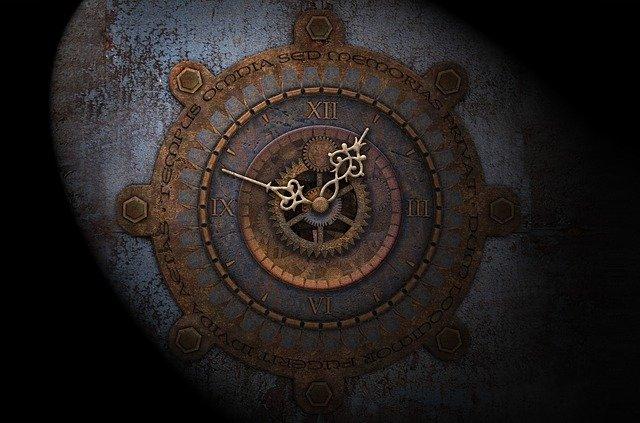 motion designs on clocks